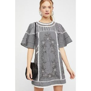 Free People Sunny Day Gingham Dress